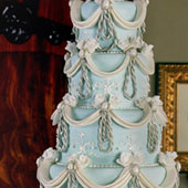 Blue Wedgewood Cake